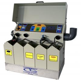 Galvanikus üzem L10-550 mágneses keveréssel