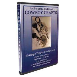 DVD Cowboy kézművesség, cowboy ezüstművesség