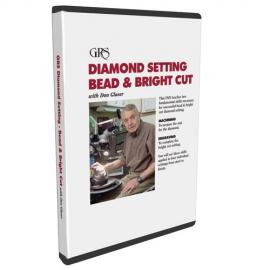 DVD gyémánt beállítás gyöngy és fényes vágás