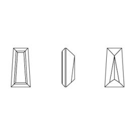 Cirkónium trapez fehér