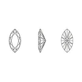 Cirkónium spitz fehér