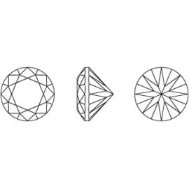 Cirkónium díszes rózsaszín kör