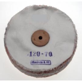 Polírozó korong 120x70 mm