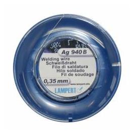 Hegesztőhuzal, Ag, 100 cm, Pr 0,35 mm, Ag940B