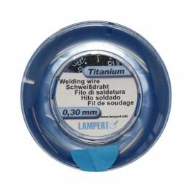 Hegesztőhuzal, Ti, 100 cm, pr.0,30 mm, Titan