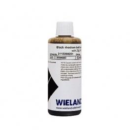 Ródium fürdő fekete 100 ml 2 g ródium