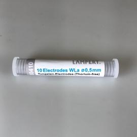 Elektróda 0,5 mm WLa a PUK-hoz (10 db csomag)