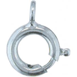 Ruggyűrű, 585-ös fehér arany