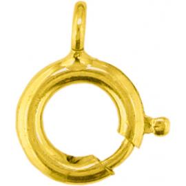Ruggyűrű, 585-ös sárga arany