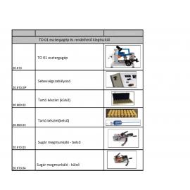 Opcionális kiegészítők TO01 esztergagéphez